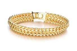 Цепи и браслеты из золота